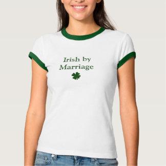 Camiseta Irlandês pelo casamento