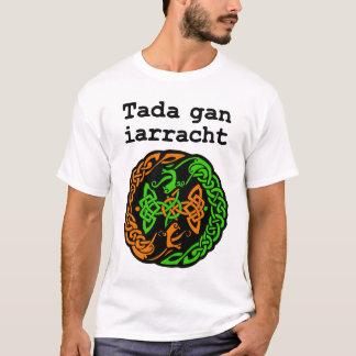 Camiseta Irlandês que diz com Knotwork