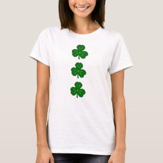 Camiseta Irlandês verde afortunado do dia do St. Patricks