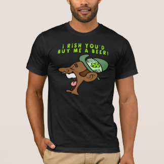 Camiseta Irlandês você comprar-me-ia um t-shirt da cerveja