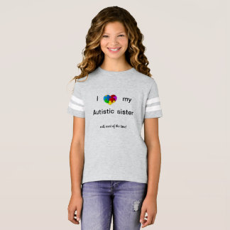 Camiseta Irmã autística