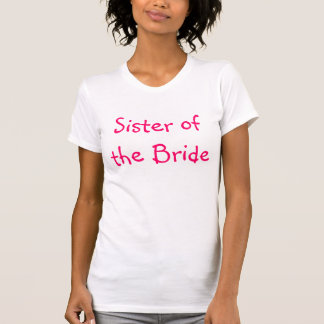 Camiseta Irmã da noiva