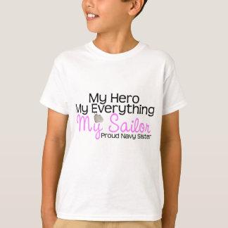 Camiseta Irmã do marinho meu herói