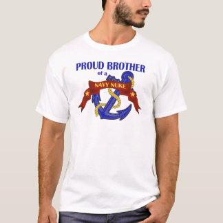 Camiseta Irmão de umas armas nucleares do marinho