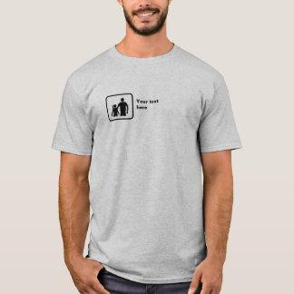 Camiseta Irmão e irmã (logotipo pequeno) -- Customisable