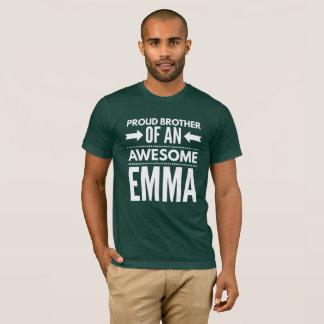 Camiseta Irmão orgulhoso de uma Emma impressionante