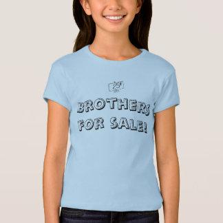 Camiseta Irmãos para a venda, 25c