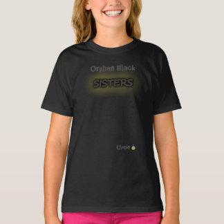 Camiseta Irmãs pretas órfãos do clone