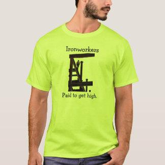 Camiseta Ironworkers pagos para obter o t-shirt alto