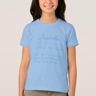 Camiseta Isabella