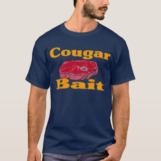 Camiseta isca do puma - azul (parte dianteira & parte