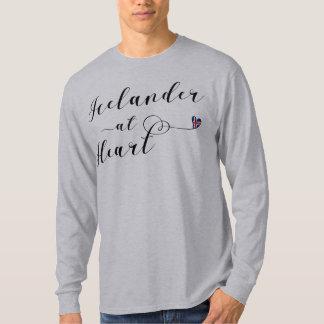 Camiseta Islandês no t-shirt do coração, Islândia