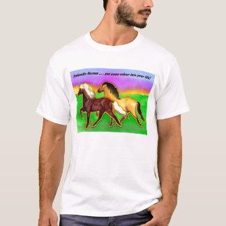 Camiseta Islandeses do arco-íris
