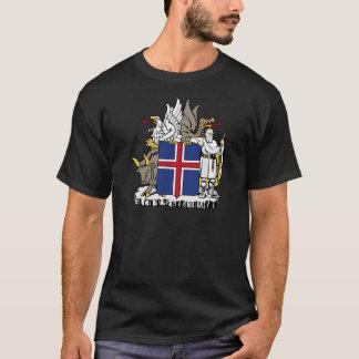 Camiseta Islândia É brasão de Ísland
