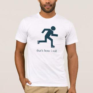 Camiseta isso é como eu rolo