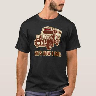 Camiseta Isso é como eu rolo Jeepney