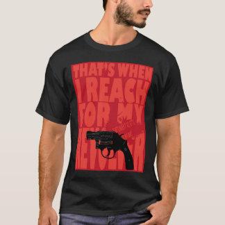 Camiseta Isso é quando toda obtem fundido afastado!