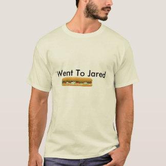 Camiseta ist2_2204939_vector_sub_sandwich, eu fui a Jared
