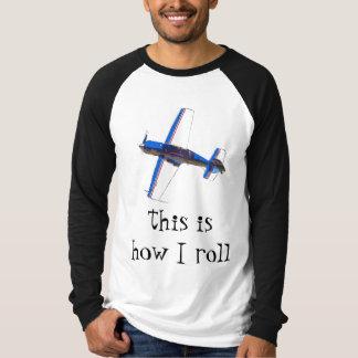 Camiseta isto é como eu rolo - acrobacias