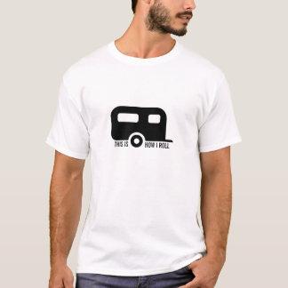 Camiseta Isto é como eu rolo o campista do rv