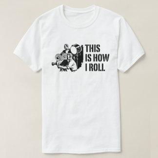 Camiseta Isto é como mim filme de rolo