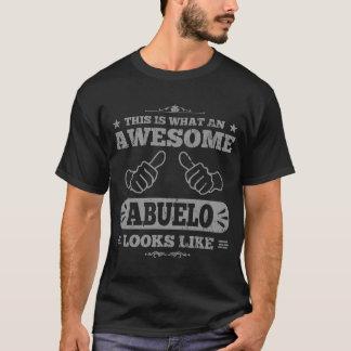 Camiseta Isto é que Abuelo impressionante olha como