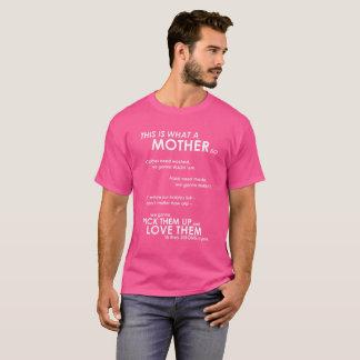 Camiseta Isto é que mãe faz - T de Darla