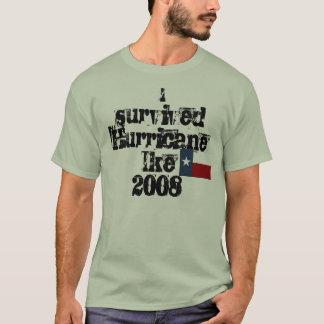 Camiseta IsurvivedHurricane Ike2008