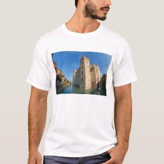 Camiseta Italia, Sirmione, lago Garda, o Scaliger