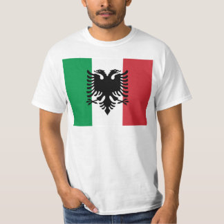 Camiseta Italiano Arberesh, bandeira de Italia