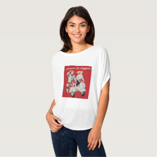 Camiseta Italianos em patinetes