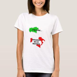 Camiseta italianos melhora