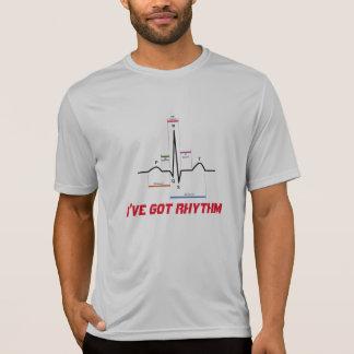 Camiseta I've obteve o t-shirt do ritmo ECG EKG