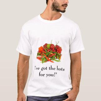 """Camiseta """"I've obteve os hots para você!"""" T-shirt"""