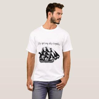 Camiseta I've pegou meu navio junto