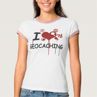 Camiseta J Geocaching love