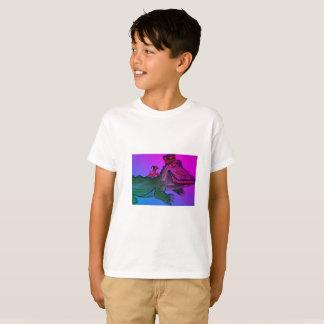Camiseta Jacaré do carnaval com lagostins