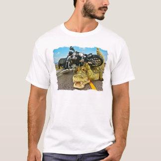 Camiseta Jacaré do motociclista