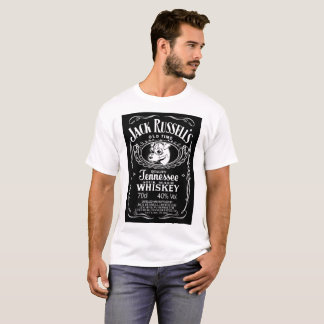 Camiseta Jack legal Russell equipa o t-shirt