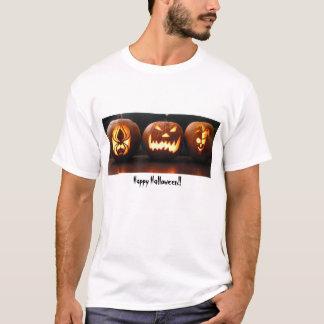 Camiseta Jack-o-lanternas, o Dia das Bruxas feliz!!