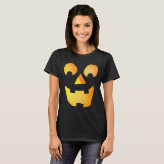 Camiseta Jackolantern de incandescência enfrenta 0920