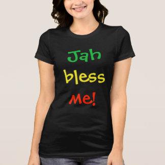 Camiseta Jah abençoa-me t-shirt das senhoras