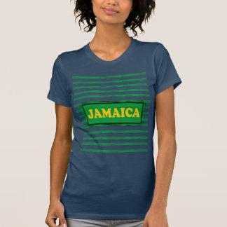 Camiseta Jamaica colore o t-shirt moderno da onda