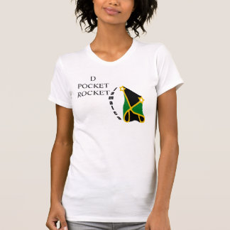 """Camiseta Jamaica de """"Tshirt de ROCKET do BOLSO D"""""""