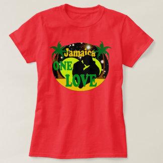 Camiseta Jamaica um por do sol do amor Stars o t-shirt da