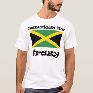 Camiseta Jamaicano mim louco