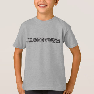 Camiseta Jamestown caçoa o t-shirt