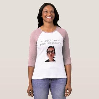 Camiseta Janane Garofolo, bíblia é mulheres da ficção