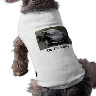Camiseta Janela clássica da separação do preto de Corveta