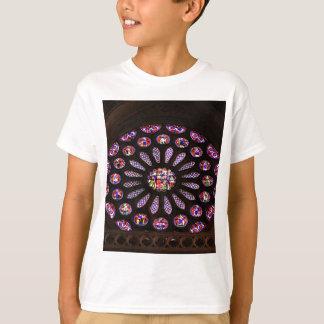 Camiseta Janela da catedral de Leon, EL Camino, espanha